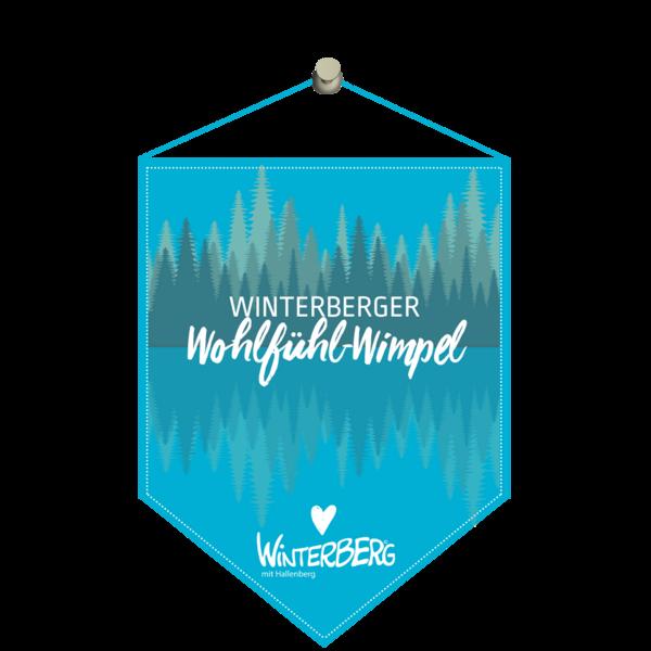 Das Logo des Winterberger Wohlfühl-Wimpel