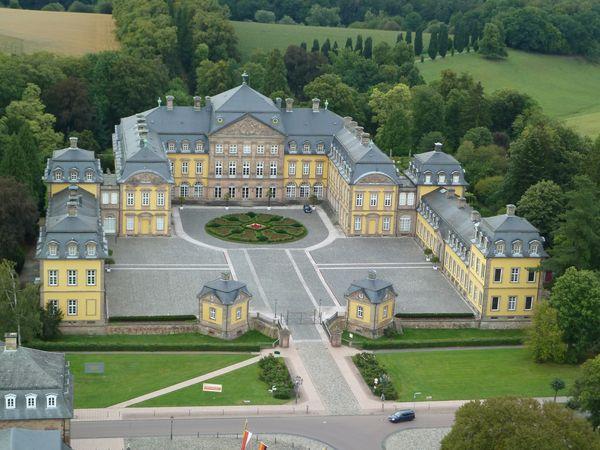 Residenzschloss Bad Arolsen, Sicht auf Schlossanlage